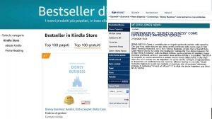 Cosa è successo quando Disney Business è diventato Bestseller Amazon