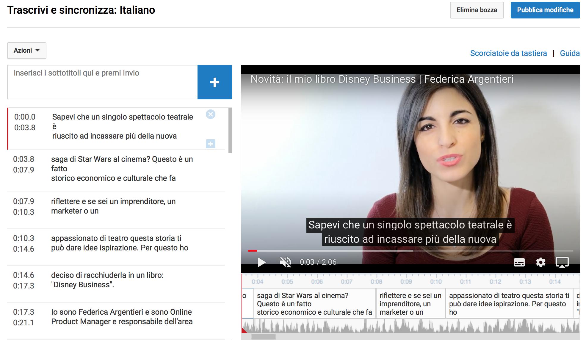 Come creare i sottotitoli nei video e perché