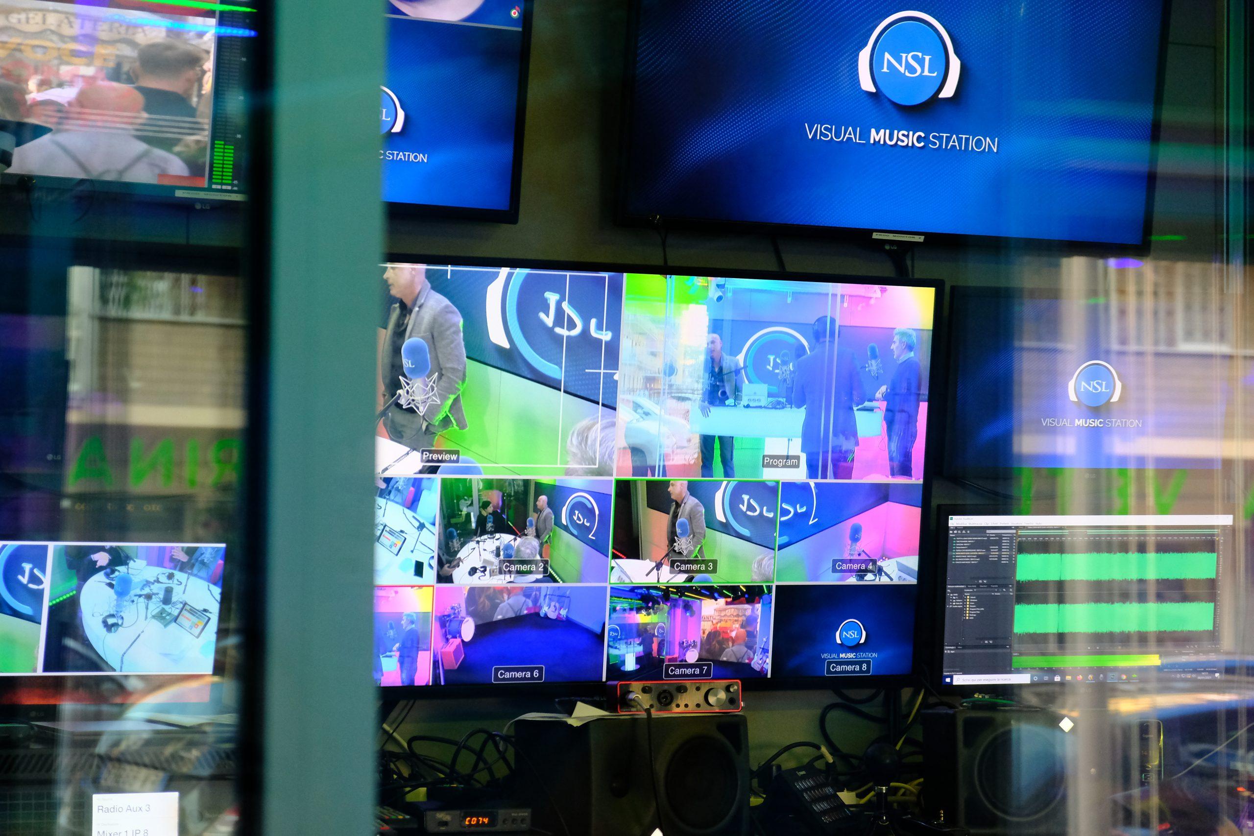 Intervista su NSL Radio TV per parlare di Content Marketing